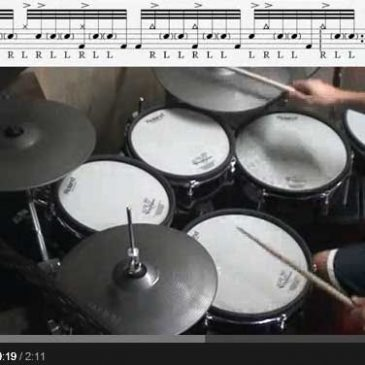 32nd note Groove/Chop – to improve your Ghost Notes